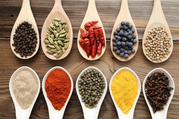 Aromatic spices.