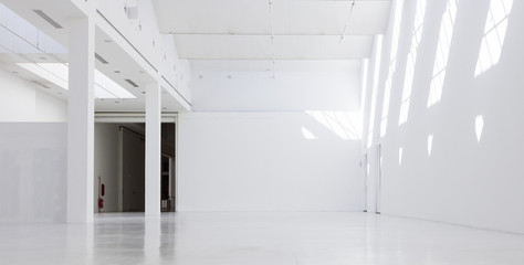 Acrylic Prints Industrial building Industrial empty interiors