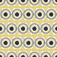 Fototapete - Abstract Ornate Seamless Pattern