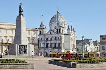 Obraz Plac Wolności, Łódź - fototapety do salonu