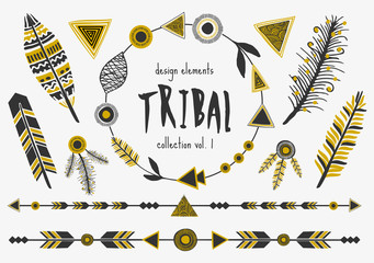 Tribal Design Elements Collection