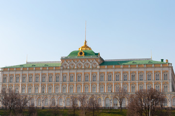 Senate building at Moscow Kremlin, official residence of