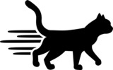"""""""Black cat. Silhouette"""" Stock image and royalty-free ... (160 x 99 Pixel)"""