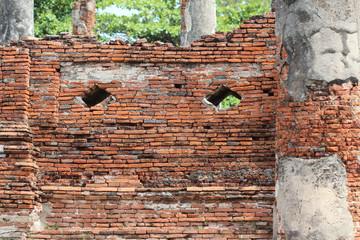 Ancient palaces. Ayutthaya Thailand