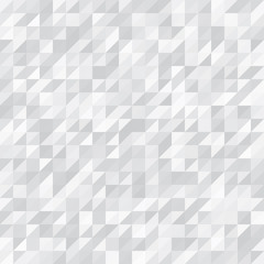 Geometric Background. White and Grey Triangles
