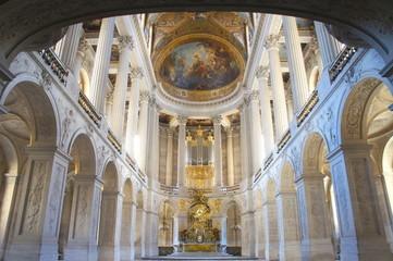 ベルサイユ宮殿 王室礼拝堂