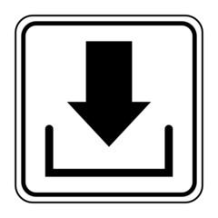 Logo téléchargement.