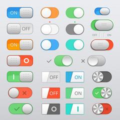 toggle switch set