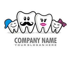 tooth dentist logo image vector