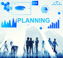 Planning Statistics Financial Marketing Growth Data Concept