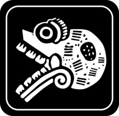 Ancient tribal symbol. Vector EPS 8