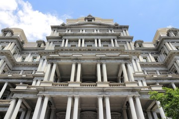 Washington DC landmark - Eisenhower building