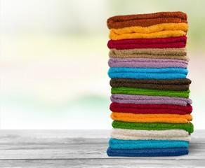 Towel. Colourful towels