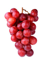 grapes isolated on a white background