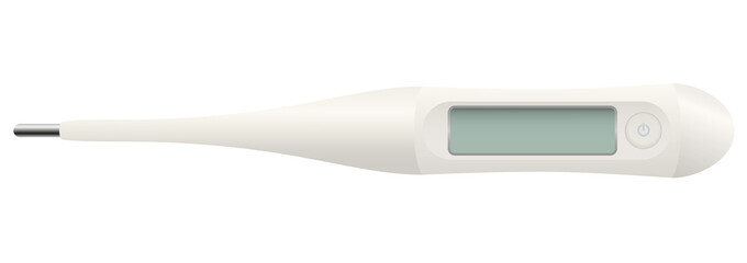Medical Thermometer Blank Display