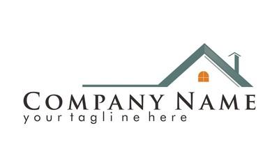 Real Estate Realty Property Vector Logo Design