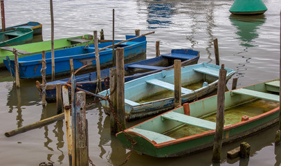 Canoas artesanais