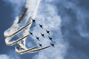 Show of force jets
