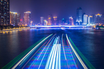 night cruise on Pearl River