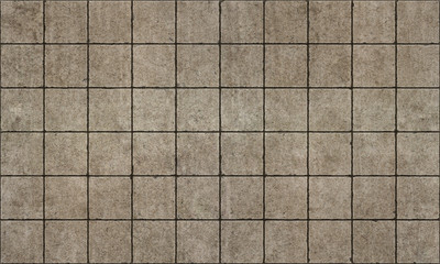 Old rough concterte tiles seamless