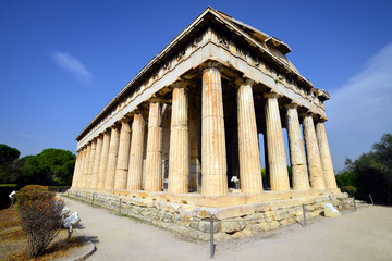 Hephaestus temple in Athens