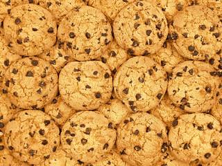 Chocolate chips cookies wallpaper