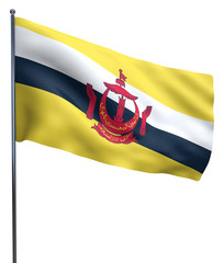 Brunei Flag Image
