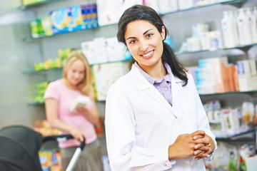 Pharmacutical chemist portrait