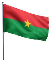 Burkina Faso Flag Image