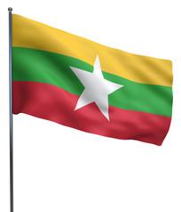 Burma Flag Image