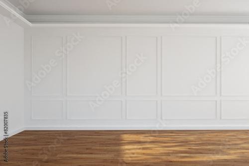 leerer wei er raum mit stuck an der wand stockfotos und lizenzfreie bilder auf. Black Bedroom Furniture Sets. Home Design Ideas