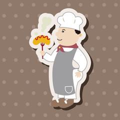 chef theme elements vector,eps