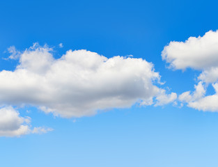 Fototapete - Blue sky with clouds