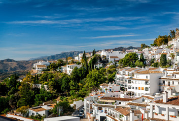 Charming little white village of Mijas. Spain