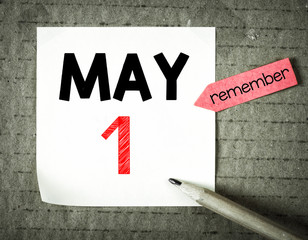 Note with 1 may