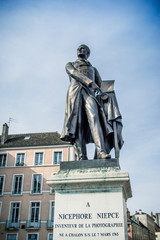 Statue de Nicéphore Niépce