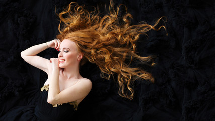 woman hair fashion