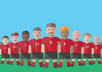 Soccer team captain