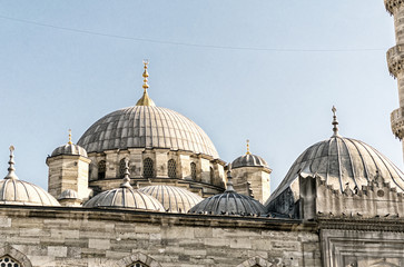 Istanbul. View of Blue Mosque