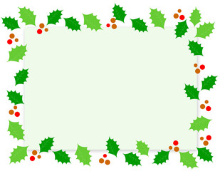 Holly border / frame