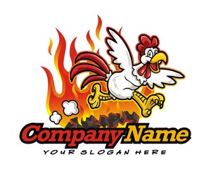 chicken run image vector