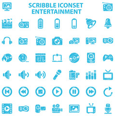 Scribble Iconset Entertainment