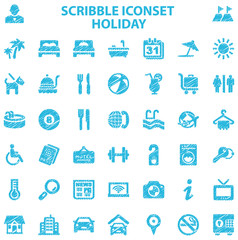 Scribble Iconset Holiday