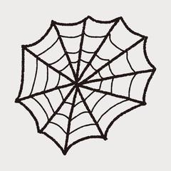 spider web doodle