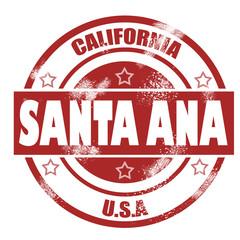 Santa Ana Stamp
