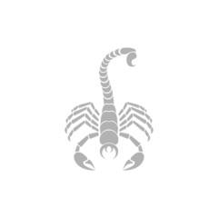 Simple icon scorpion.