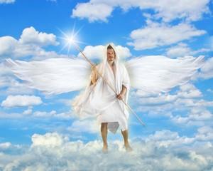 Angel With Light Javelin