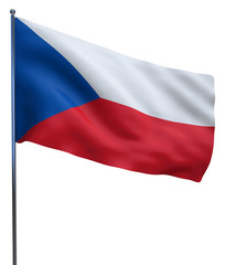 Czech Republic Flag Image