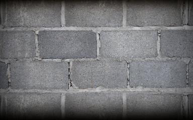 Stone Grey Brick Wall Art, Texture