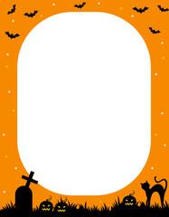 Halloween frame / border
